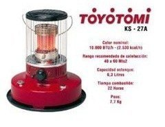 Estufas a parafina Toyotomi