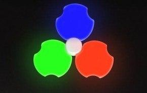 Inifera, iluminación modular de colores