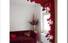 Divisor de ambientes de acrílico muy original y decorativo