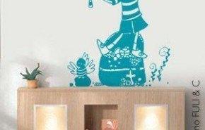 Más diseños de vinilos decorativos para el dormitorio infantil