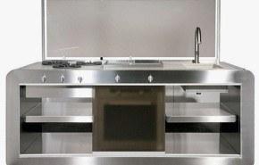 Cocinas compactas para ahorrar espacio