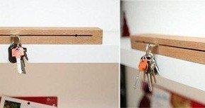 Porta-llaves de madera muy original