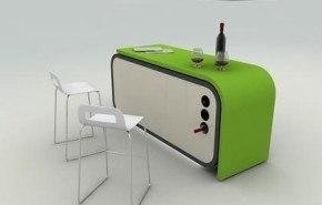 Cocina modular para minipisos