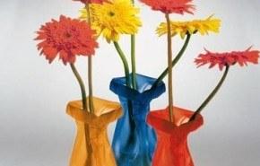 Le Sack, floreros maleables