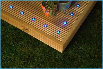M s l mparas led para exteriores for Lamparas para patios exteriores