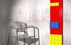 Estufa en forma de bloques de Lego
