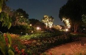 Iluminando la terraza