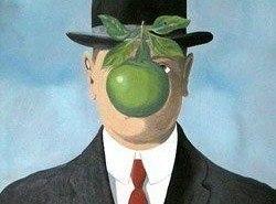 Lámpara homenaje a Magritte