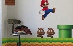 Vinilos decorativos de Super Mario Bros