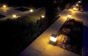 Menhir, iluminación para exteriores