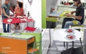 Mesas Cancio para cocinas pequeñas
