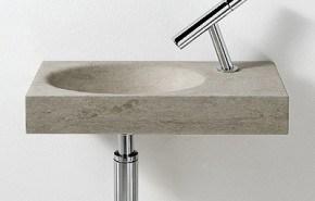 Lavabos para baños minimalistas, de Sanico