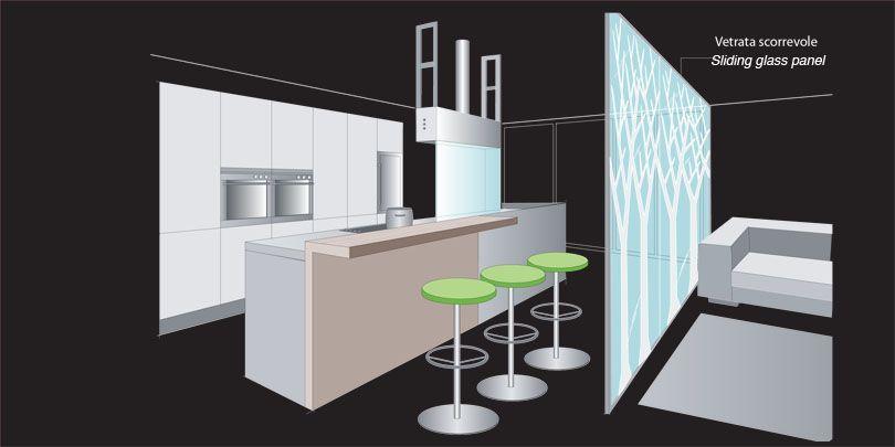 dividere cucina dal soggiorno con vetro ~ dragtime for . - Dividere Cucina Dal Soggiorno Con Vetro 2