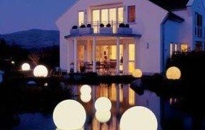 Lámparas de luna para interiores y exteriores