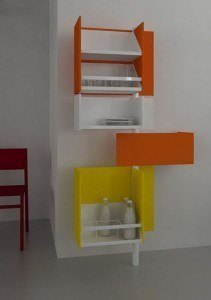 mueble giratorio cocina