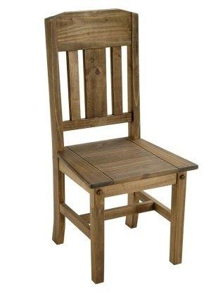 Decoraci n con muebles r sticos - Sillas rusticas ...