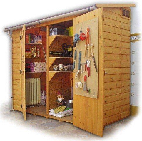 Armarios de exterior que decoran - Mueble para herramientas ...