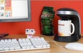 Desktop Coffee Maker, café en el escritorio