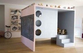 Mueble para dormitorios infantiles amplios