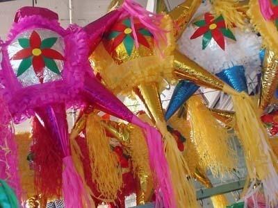 piñatas con papel mache