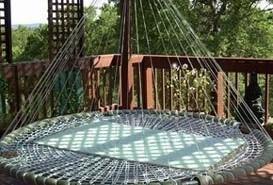 Camas flotantes para descansar al aire libre