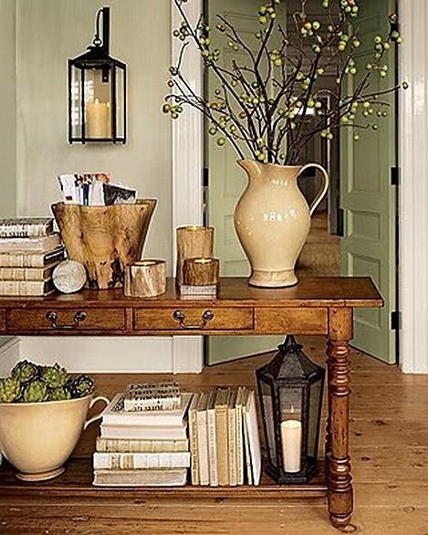 Art Van Foyer Tables : De fotos recibidores rústicos que os van a encantar