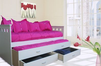 Camas creativas on pinterest creative beds beds and for Decoracion para apartamentos pequenos