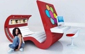 Muebles modernos juveniles