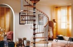 Escaleras caracol, una buena opción ante la falta de espacio