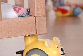 Divertidas ruedas decorativas para el dormitorio infantil