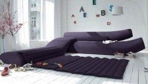 Lava, un versátil sofá ultramoderno