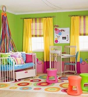 Little Girl Rainbow Room