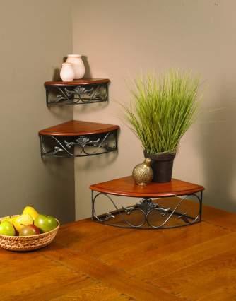 Estantes esquineros con mucho estilo for Esquineros para paredes