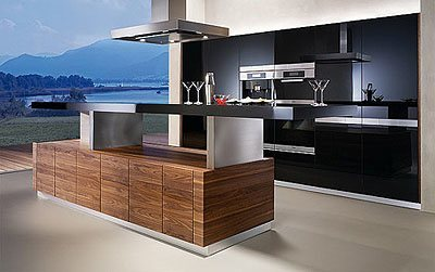cocina automatizada k7 de team 7. Black Bedroom Furniture Sets. Home Design Ideas