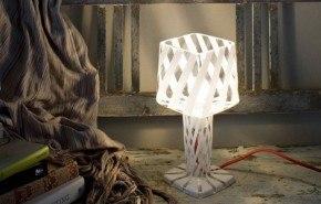Lámparas románticas