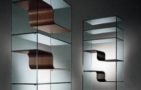 The Wave Bookcase, una moderna estantería