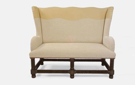los mejores sillones loveseats bocca y vineyard settee. Black Bedroom Furniture Sets. Home Design Ideas