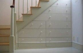 Aprovechando al máximo el hueco de una escalera
