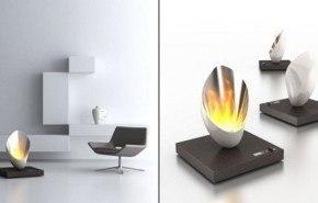 Burn Out, una chimenea de lujo
