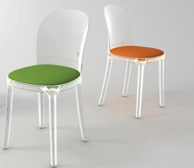 vanity chair unas modernas sillas transparentes