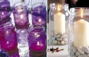 Cómo fabricar bonitos candelabros