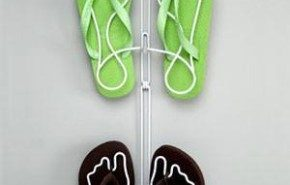 Zapateros colgantes, para guardar sandalias