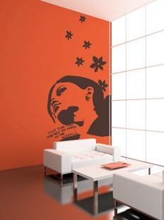 Vinilos adhesivos para tu pared for Decorar paredes vinilos adhesivos