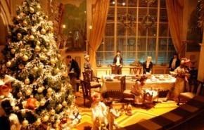 Consejos para decorar una vitrina navideña