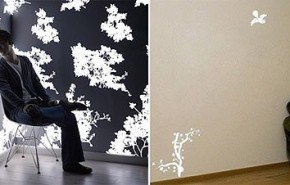 Papel de pared luminoso