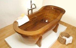 Bañera de madera | Stolis