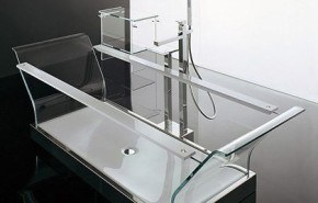 Cristalli. La bañera transparente